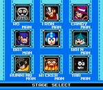 Mega Man at the Movies (Stage Select) by KarakatoDzo