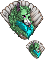 Seafoam Avatar Commission by CattheCowardlyLion