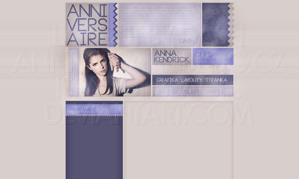 Layout: Anna Kendrick by iseayoubeach