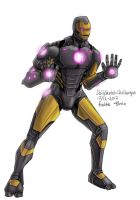 Daily Sketches Iron Man Now Armor by fedde