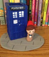 11th Doctor Pen Holder! by GeekGirl02