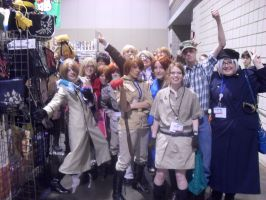 A Hoard of Hetalians at Naka-Kon 13' by Andreasantoni