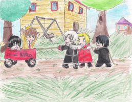 Wagon Thieves... by The-Butterses