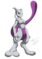 Mewtwo My Style by GunZcon