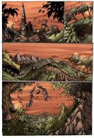 Plains of Jaalin comicpage 1 old version by ArtByElde