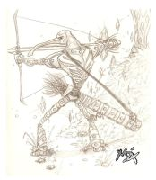 Anteater Archer by MatAndre