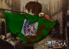 Survey Corps Braus by AzuraJae