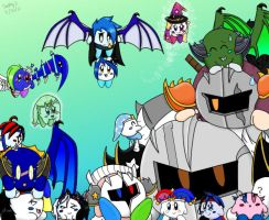 *old* My and Felicia64anime's Kirby oc group by gabbycat17