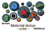 Icons. Material Design (color) by Rammist