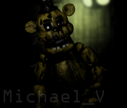 Phantom Freddy Fazbear by Michael-V