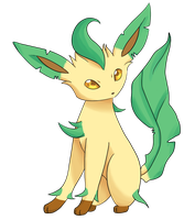 Romaine the Leafeon by AzaleaMoon