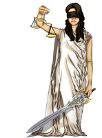 lady justice II by sadthree