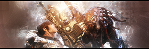 GoW: Marcus-Skorge Sig No-Text by PacoSigs