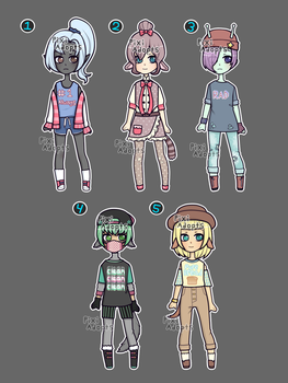 (closed) Mixed Batch by PixiAdopts