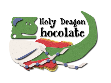 Holy Dragon Chocolate Final Logo by Eredien