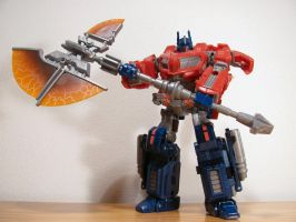 Optimus Prime right from the game by NouNickName