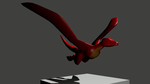 3D Wyvern by AwesomeC99
