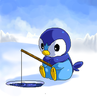 Ice Fishing by Jiayi