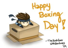 MGS2: Happy Boxing Day by WithSkechers