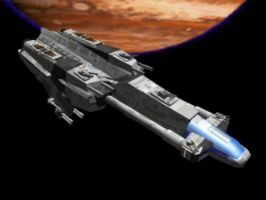 Sphix Defence Frigate by Rixit