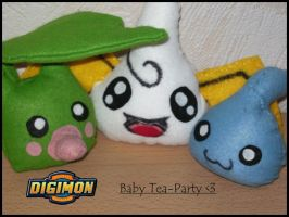 Digimon-Baby-Tea-Party by Dira-Chan