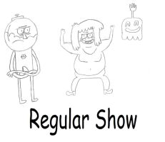 More Regular Show Characters by VaultBoysTriumph