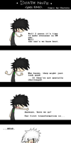 Death note goes EMO. by chaloto