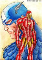THE DEATH OF CAPTAIN AMERICA. by MUERTITO69