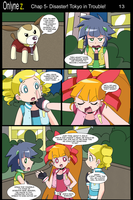 Onlyne Z Chap.5 Disaster! Tokyo in Trouble!- 13 by BiPinkBunny