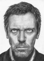 House - Hugh Laurie by simple-sarah