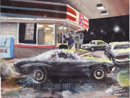 The Life Story Of A 1970 Chevy Chevelle (Part 27) by FastLaneIllustration