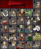 The T.D. Alphabet by Sheana