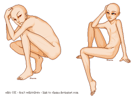 Misc. Male Bases by Chama