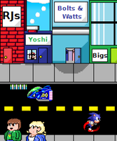 Take Me To The Town by HalberdMel