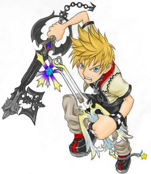 Roxas by AIBryce