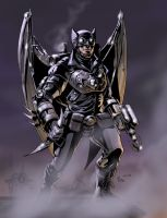 TLIID tryout: Steampunk Batman by AxelMedellin