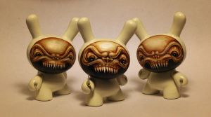 white death custom dunnys by JasonJacenko