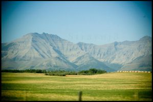 Mountain Vignette by Straynj3