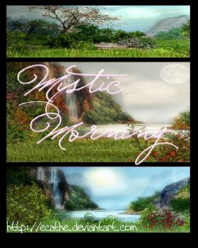 Mystic Morning Backgrounds by Ecathe