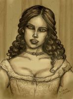 'Victorian Vampire' by Liliane by SilentHillGothLady13