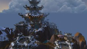 Kun-Lai Summit- Temple of the White Tiger by Bluemead