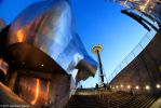 Space Needle and EMP Building by jgavac