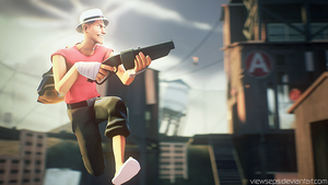 Team Fortress 2 (TF2) - Scout by ViewSEPS