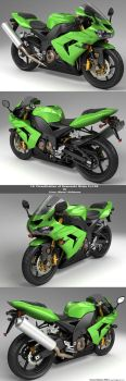 Kawasaki Ninja Zx10r Final All by lhnova