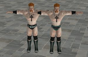 'WWE: All Stars' Sheamus XPS ONLY!!! by lezisell
