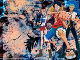 Wallpaper: One Piece by Terrami