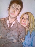 The Doctor and Rose by Amrinalc