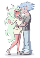 Boxer Blazer and Scanty by Blue-Chica