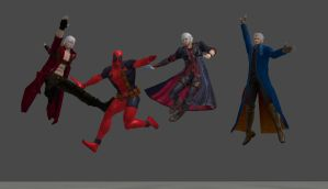 Devil May Cry Beatles Cover by sa789456123