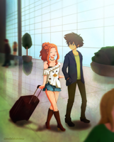 C: At the Airport by Detoreik